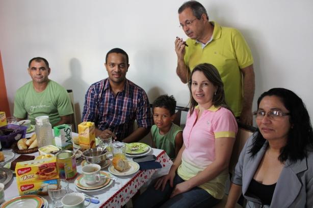 Família Almeida reunida